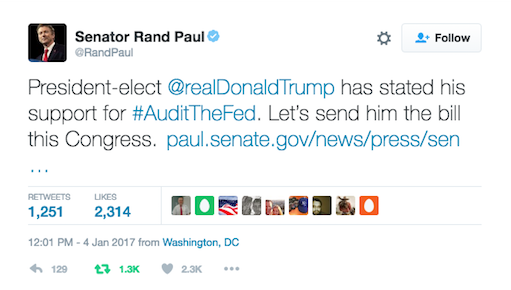 24hGold - Rand Paul Introduces...