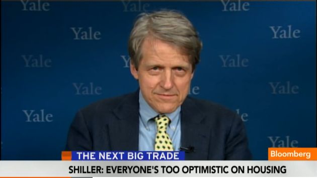 Shiller on Bloomberg
